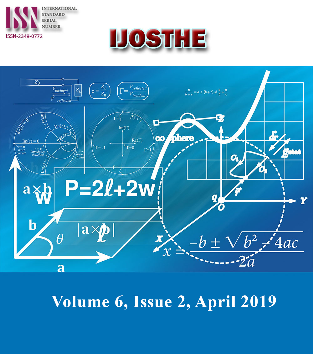 View Vol. 6 No. 2 (2019): Volume 6, Issue 2, April 2019